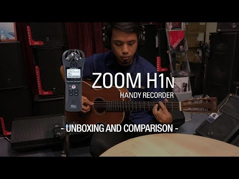 ZOOM H1N Unboxing & Sound Comparison!