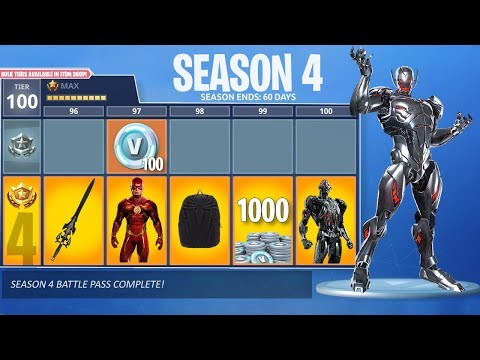 "FORTNITE ""Season 4"" SKINS REVEALED BY FORTNITE! - Fortnite Season 4 Leaked Information?"