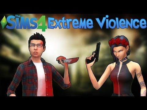 The Sims 4: Extreme Violence! (Mod Showcase) streaming vf