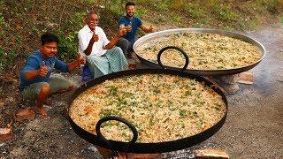 Biggest Chicken Omelette | Super Fluffy Omelette | Amazing Chicken Omelette | Grandpa Kitchen