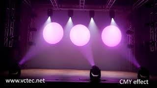 CMY 300W LED Beam Spot Wash 3 in 1 Moving head