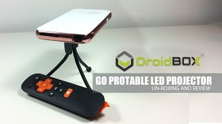 DroidBox Go DLP LED Portable Projector Android - Review