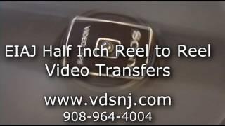 EIAJ Half Inch Reel to Reel Video Transfer / Obsolete Video Transfer