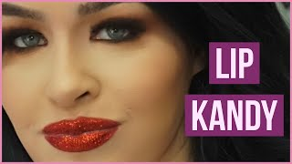 Getting My Lip Kandy at Imats  I Glitter Makeup