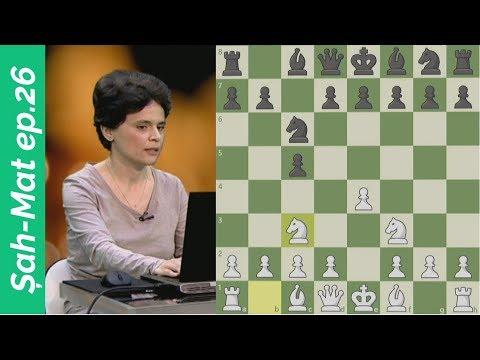 Șah-Mat la TVR 1, ep.26: Corina Peptan | Inițiativa în șah