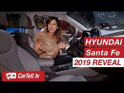 2019 Hyundai Santa Fe Preview Geneva CarTell.tv