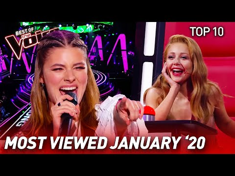 TOP 10 | The Voice: TRENDING IN JANUARY '20