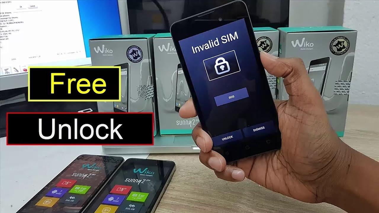 Free Wiko Sunny 2 Plus Sim Unlock Wiko Sunny 2 Plus Invalid Sim