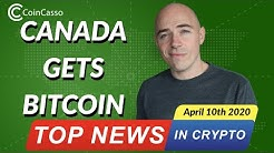 Bitcoin Fund on Toronto Stock Exchange - Bitcoin Today [April 10 2020]