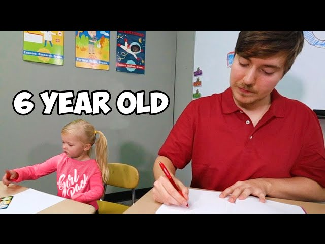 I Went Back To 1st Grade For A Day