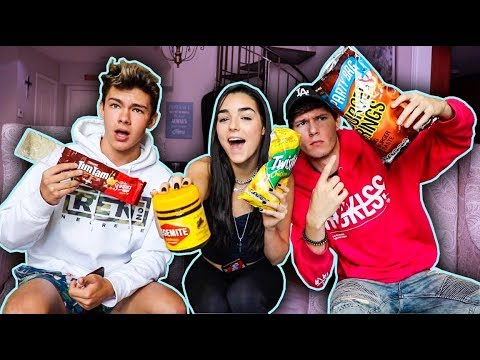 TRYING AUSTRALIAN FOODS (Feat. Indiana Massara & Zach Justice)
