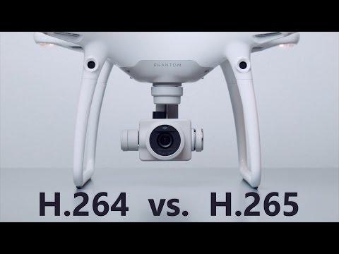 H 264 vs H 265- Which is Better? DJI Phantom 4 Pro Test