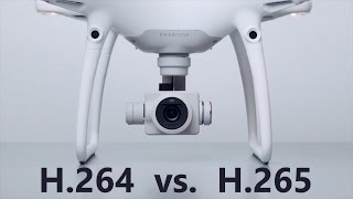 H 264 vs H 265- Which is Better? DJI Phantom 4 Pro Test