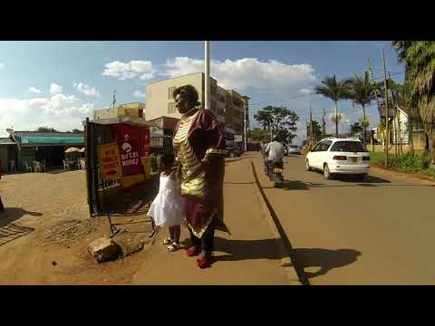 Walking To Centenary Park In Kampala, Uganda