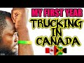 Jamaican Truck driver in Canada Get Bad Hair Cut & Receives is Amazon package. VLOG #03