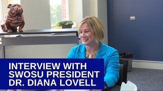 Interview with SWOSU President Dr. Diana Lovell about COVID, vaccination efforts, and SWOSU's future