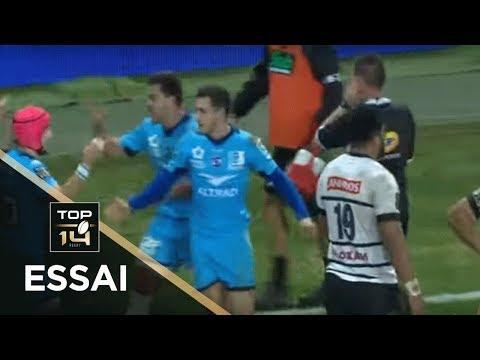 TOP 14 - Essai Thomas DARMON (MHR) - Montpellier - Brive - J13 - Saison 2019/2020