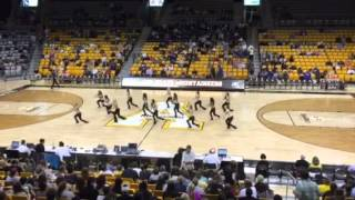 Appalachian State University Elite Dance Team Halftime Body Ache