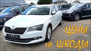 Шкода цена, авто из Литвы. Июль 2020.