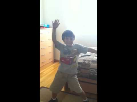 Little kid dancing to show me your