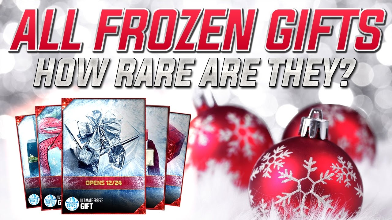 MUT 17: HOW RARE IS YOUR GIFT? EVERY MADDEN 17 ULTIMATE TEAM ...