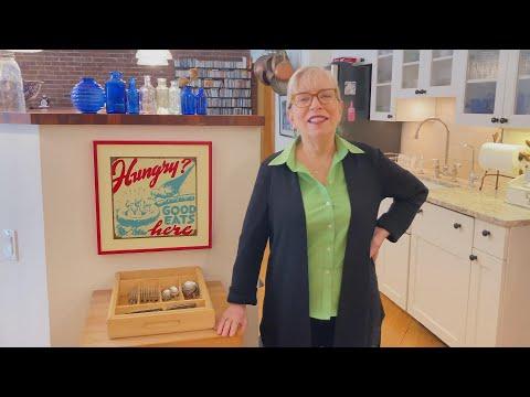 NYC Home Kitchen Tour | TV Chef + Cookbook Author Sara Moulton