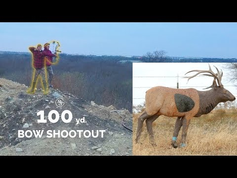 INSANE 100 Yard BOW SHOT!