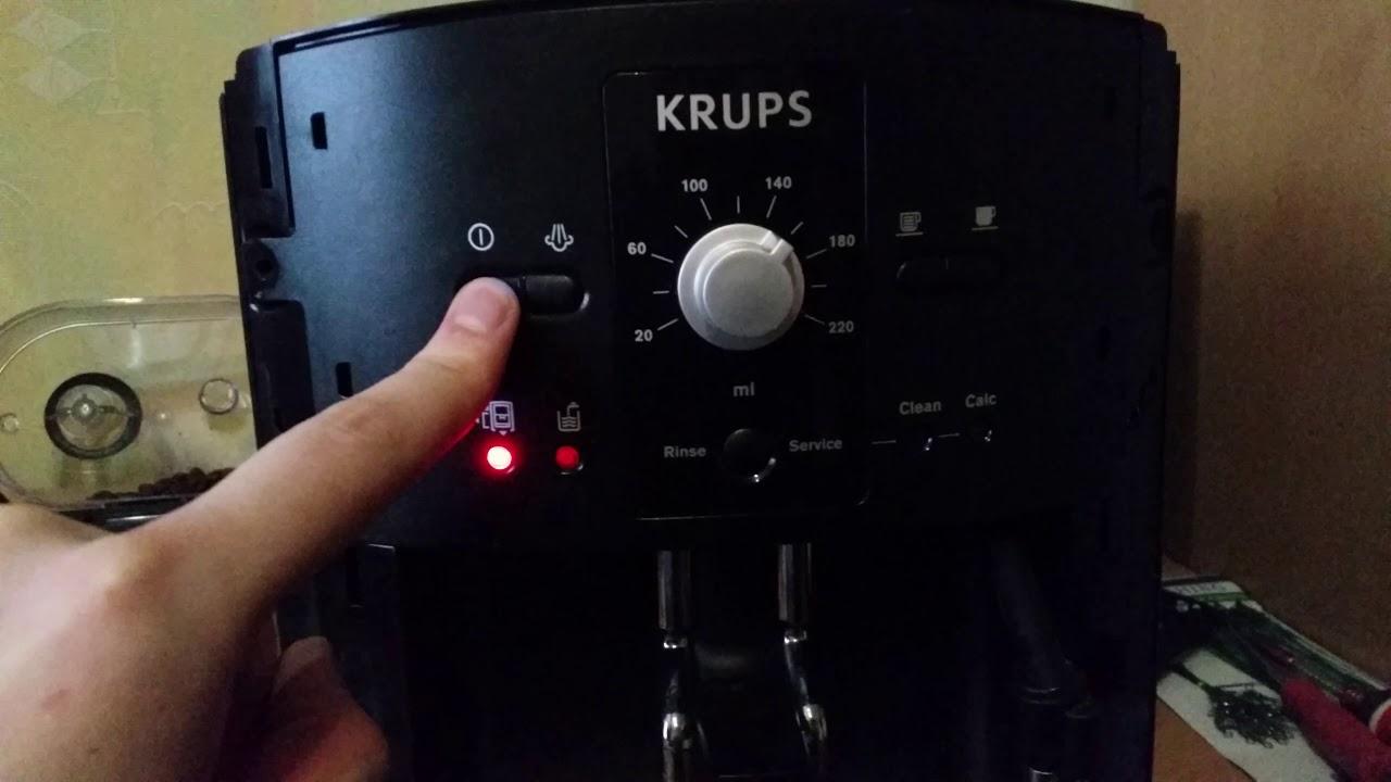 Krups Coffee Maker Clean Light Flashing Adiklight Co