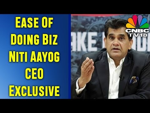 Ease Of Doing Biz: Niti Aayog CEO Exclusive | CNBC TV18