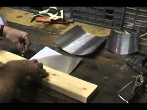 How To Cut And Bend Step Flashing For Roofing Youtube