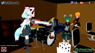 [VR] Kawaii Dancing,Talking,Build, etc. #VirtualCast 2018/10/17 Daytime JAPAN