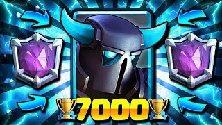 7000+ BEST PEKKA LADDER DECK EVER!! HUGE TROPHY PUSH!! RTUC #3