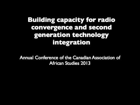 Building Capacity for Radio Convergence and Second Generation Technological Integration