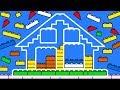 Building House with LEGO Bricks