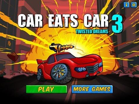 Car Eats Car 3 - Walkthrough