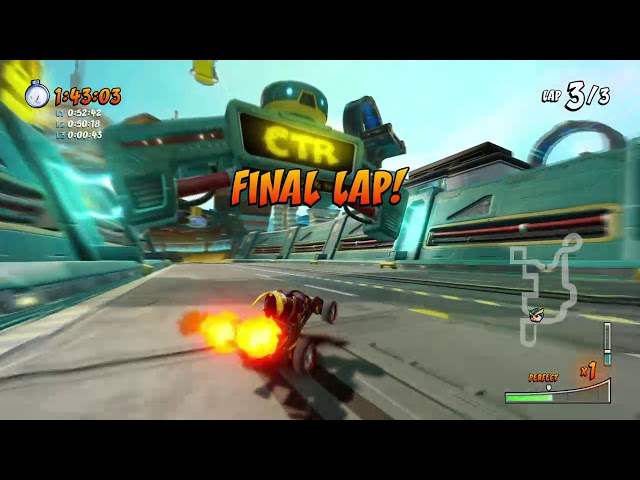 CTR NF: Android Alley 2:32.75