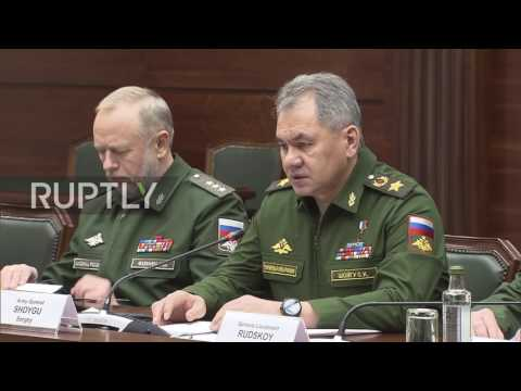 Russia: 'We hope that decisions for Syria will be taken today' - Shoigu