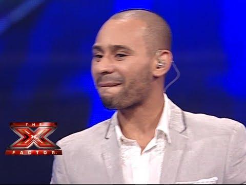 محمد الريفي - على بابي واقف قمرين - العروض المباشرة - الاسبوع 9 - The X Factor 2013
