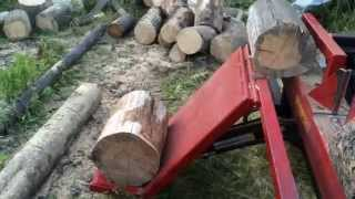 12 Ton Electric log splitter