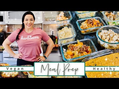 easy-weekly-meal-prep-for-2020-success!-|-healthy-vegan-pressure-cooker-recipes!