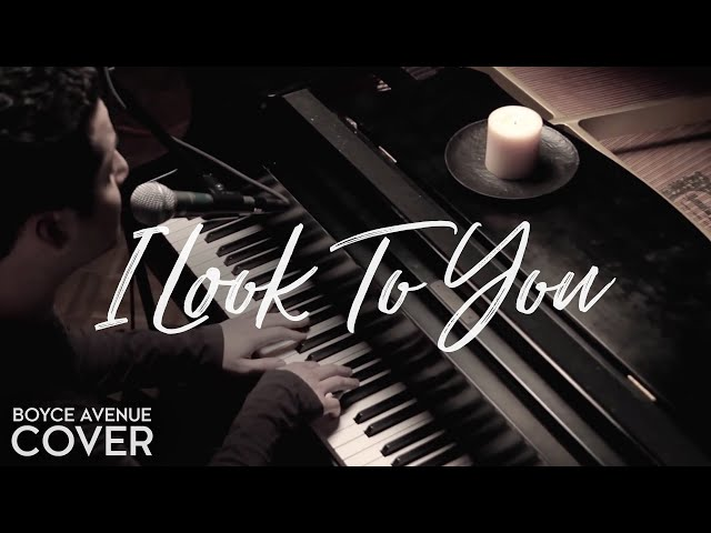 Whitney Houston — I Look To You (Boyce Avenue piano acoustic cover) on Spotify & Apple