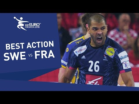 Superfast Claire scores a stunning goal against Sweden | Men's EHF EURO