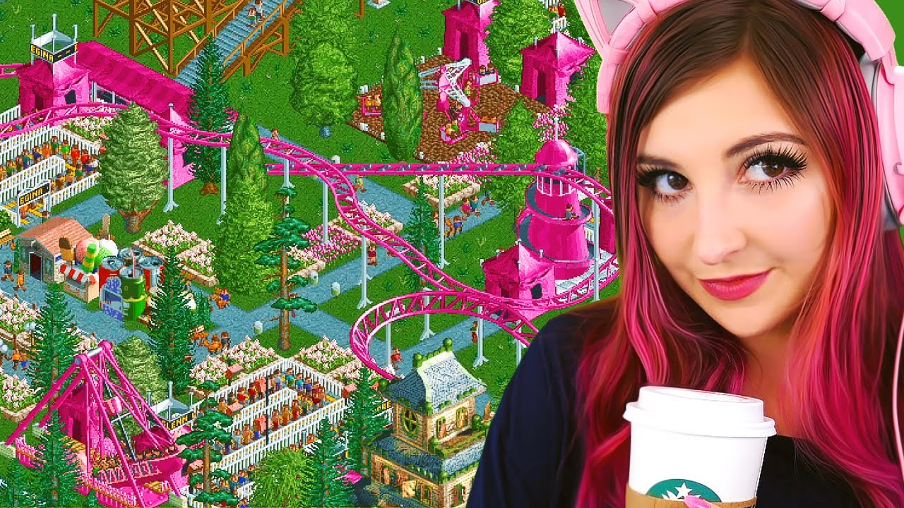 making a pink theme park! (Streamed 9/9/20)