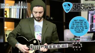 Lick 104/365 - Disharmonic Chords in Am | 365 Guitar Licks Project