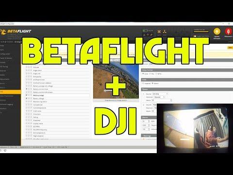 HUGE DJI UPDATE. BETAFLIGHT OSD On DJI FPV DIGITAL SYSTEM
