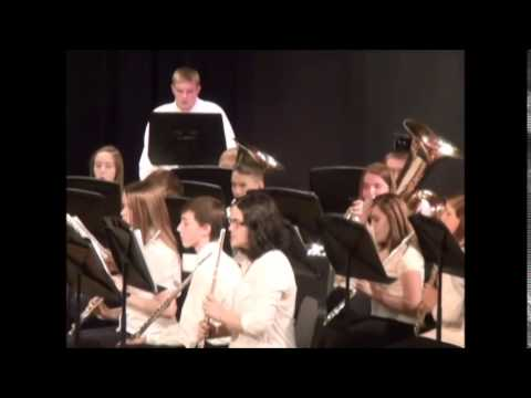 Superior Middle School 8th Grade Band Winter Band Concert 2014-15