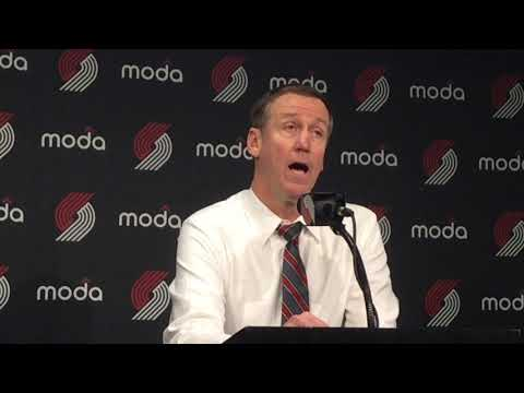 Watch: Blazers coach Terry Stotts talks about season-opening win over the Los Angeles Lakers