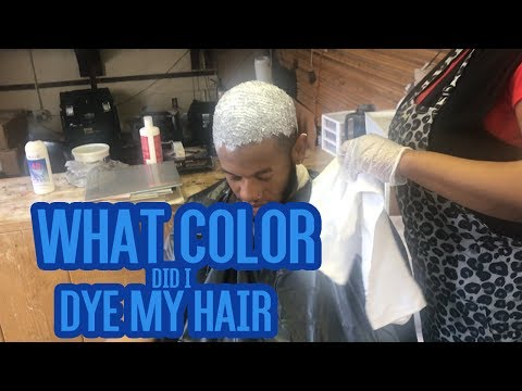 I DYED MY HAIR!! SEE WHAT COLOR