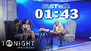 TWBA: Fast Talk with Kim Chiu and Gerald Anderson