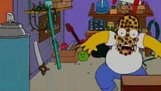 Homer Simpson - Spinnengift ist Menschengift (Garage aufräumen)